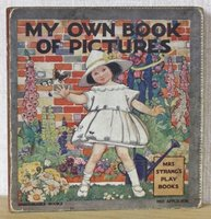 MY OWN BOOK OF PICTURES. Mrs Strang's Play Books. The Unbreakable Books.
