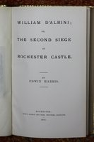 WILIAM D'ALBINI; or, The Second Siege of Rochester castle. by HARRIS, Edwin