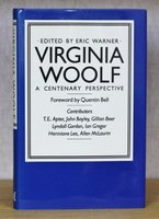 VIRGINIA WOOLF A Centenary Perspective. by WARNER, Eric. Edited by.