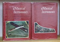 Victoria and Albert Museum CATALOGUE OF MUSICAL INSTRUMENTS. Volume I Keyboard Instruments. Volume II Non-Keyboard Instruments. by RUSSELL, Raymond. F.S.A. and BAINES, Anthony.