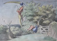 FANTASTIC WATERCOLOUR BY EDWARD ARDIZZONE.