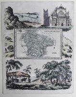 Map of Devonshire.