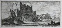 A series of twelve views of Rome by Israel Silvestre. by [SILVESTRE. Israel ( 1621-1691)].