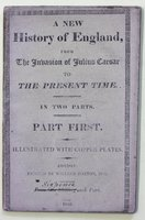 A NEW HISTORY OF ENGLAND, from the Invasion of Julius Caesar to the Present Time. In two parts.