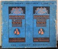 BARTHOLOMEW'S REVISED HALF-INCH CONTOURED MAPS. For Library Reference. by BARTHOLOMEW.