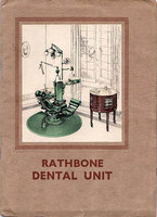 """RATHBONE"" DENTAL UNIT by [DENTISTRY]. DENTAL MANUFACTURING CO.,"