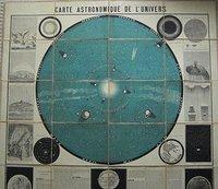 CARTE ASTRONOMIQUE DE L'UNIVERS by LAPORTE, Etienne.