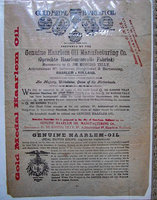 GOLD MEDAL HAARLEM OIL by [MEDICAL ADVERTISEMENT]. [TILLY, G. de Koning].