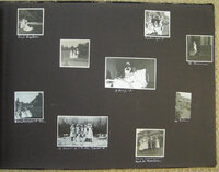 LARGE OBLONG ALBUM CONTAINING 111 PHOTOGRAPHS by [NURSING].