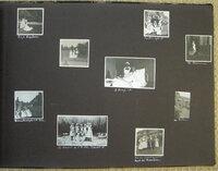 LARGE OBLONG ALBUM CONTAINING 111 PHOTOGRAPHS by [NURSING].