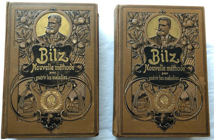 LA NOUVELLE MÉDICATION NATURELLE. by [FLAP BOOKS]. BILZ, Friedrich Edouard.