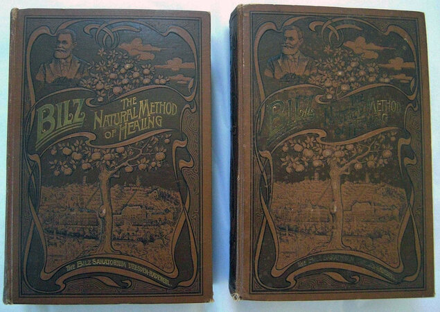 THE NATURAL METHOD OF HEALING. by [FLAP BOOKS]. BILZ, Friedrich Edouard.