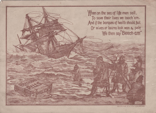BEECHAM'S MUSIC PORTFOLIO by [MEDICAL ADVERTISEMENT]. BEECHAM'S PILLS.