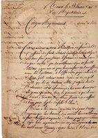 TABLEAU DES INFIRMITÉS by [FRENCH REVOLUTION MANUSCRIPT]. [MILITARY MEDICINE].