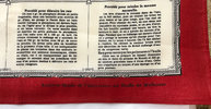 Another image of MOUCHOIR DES CONNAISSANCES UTILES. by [DOMESTIC SCIENCE]. [PRINTED HANDKERCHIEF]