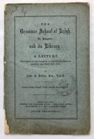 THE GRAMMAR SCHOOL OF LEIGH, by [EDUCATION.] [SCHOOL LIBRARY CATALOGUE.] BAILEY, John E.