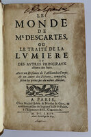 LE MONDE by DESCARTES, Rene.