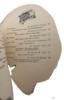 Another image of MENU CARD IN THE SHAPE OF A SKULL FOR THE 'SECOND ANNUAL BANQUET OF THE UNIVERSITY OF PENNSYLVANIA CHAPTER, by [MEMENTO MORI.] [PENNSYLVANIA MEDICAL FRATERNITY.]