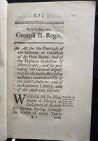 ANNO REGNI GEORGII II. REGIS... VICESIMO SEXTO. by [BRITISH MUSEUM.] [GREAT BRITAIN, PUBLIC GENERAL ACT.]