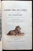 LE JARDIN DES PLANTES by [PARIS - JARDIN DU ROI.] BOITARD, Pierre.
