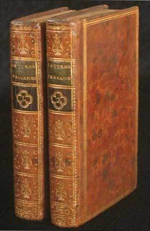 Lettres persanes... nouvelle edition, augmentée de douze Lettres qui ne se trouvent point dans les précédentes; et suivie du Temple de Gnide. by MONTESQUIEU, Charles de Secondat, baron de.