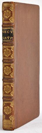 Satyrae... nunc primum in lucem editae. by 'SECTANI, Q[uinto]' [pseudonym of Lodovico SERGARDI].