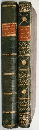 Receuil des passages extraits de différents auteurs avant Diocletian [vol II: après Diocletian]; qui traitent des magistratures et de l'administration des romains. by GIBELIN, Jacques.