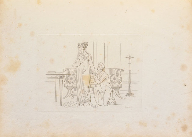 Designs of modern costume. &c... on 29 plates... by MOSES, Henry.