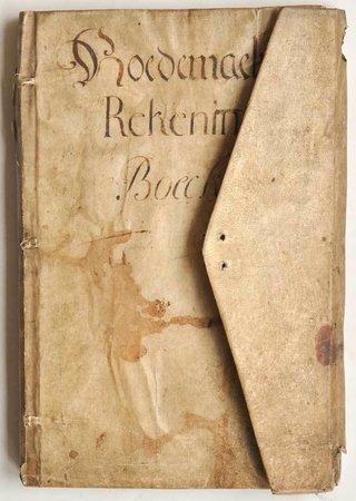 Hoedemaekers Rekening Boeck. by (HATMAKERS, Antwerp Guild of.)