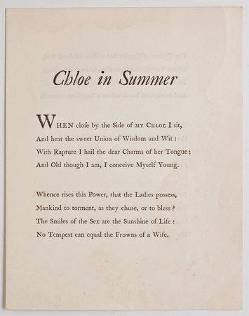 CHLOE in Summer by CHLOE.