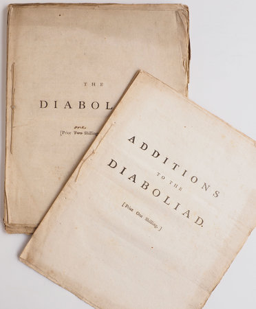 The Diaboliad, a Poem. Dedicated to the worst Man in His Majesty's Dominions... by [COMBE, William].