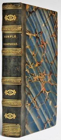 Simple Histoire. Traduction de l'anglois de Mistriss Inchbald. Par M. Deschamps. by INCHBALD, [Elizabeth].