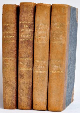 Les Puritains d'Écosse et le Nain mystérieux, Contes de mon hôte recueillis par Jedediah Cleisbotham, by [SCOTT, Sir Walter].