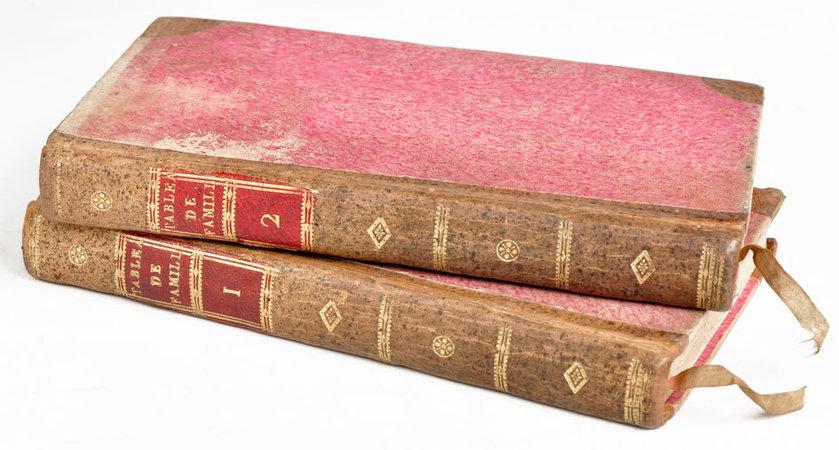 Tableaux de famille, ou Journal de Charles Engelman, traduit de l'allemand d'Auguste Lafontaine; par l'auteur de Caroline de Lichtfield [Isabelle de Montolieu]. by LAFONTAINE, August [Heinrich Julius].