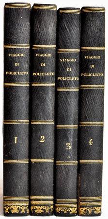 Viaggio di Policleto a Roma ... traduzione dal francese corredata di note per cura di Davide Bertolotti. by THÉIS, Alexandre Etienne Guillaume de.
