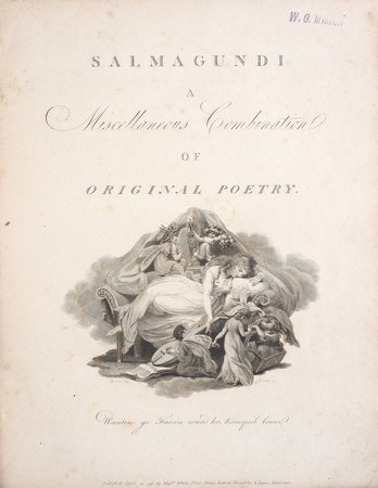 Salmagundi; a miscellaneous Combination of original Poetry: consisting of Illusions of Fancy; amatory, elegiac, lyrical, epigrammatical, and other palatable Ingredients... by [HUDDESFORD, George].