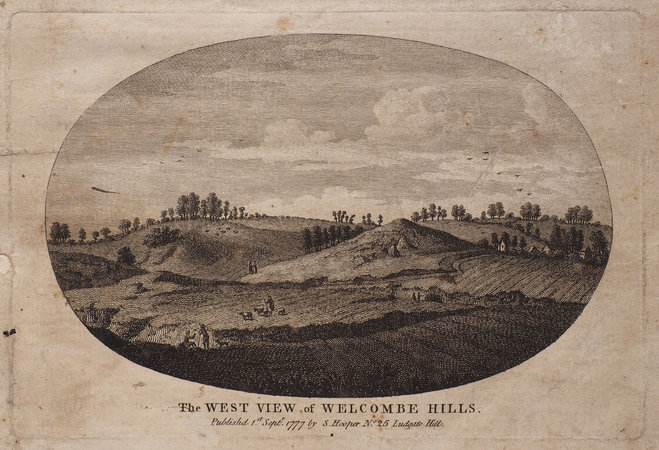 Welcombe Hills, near Stratford upon Avon, a Poem, historical and descriptive... by JORDAN, John.