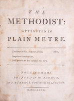 The Methodist: attempted in plain Metre... by [KERSHAW, James].