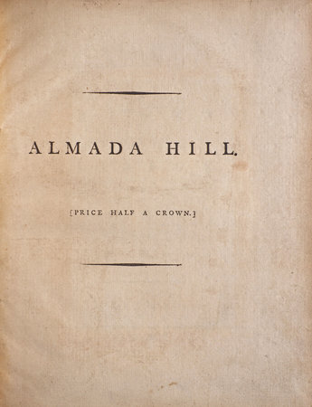 Almada Hill: an Epistle from Lisbon. by MICKLE, William Julius.