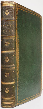 Poems. Descriptive, Elegies, Epistles, Odes, Sylva, or Miscellanies, Songs, and Sonnets. by William Mavor, LL.D. by MAVOR, William Fordyce.
