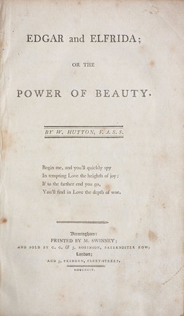 Elfrida, a dramatic Poem. Written on the Model of the antient Greek Tragedy... by MASON, William.
