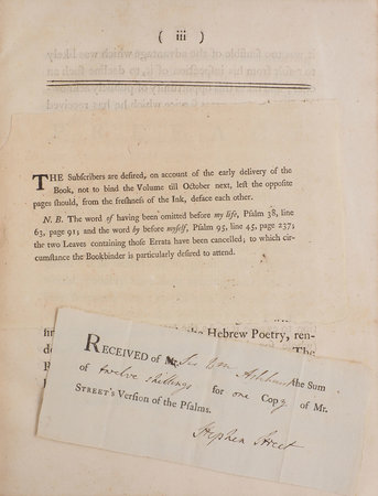 The Psalms, translated or paraphrased in English Verse... by MERRICK, James.