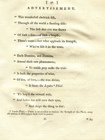 The Electrical Eel: or, Gymnotus electricus. Inscribed to the Honourable Members of the R***l S*****y, by Adam Strong [pseud.], Naturalist. A new Edition, with considerable Additions... by [PERRY, James].