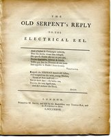 The Old Serpent's Reply to the Electrical Eel... by [PERRY, reply to.]