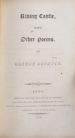 The Pleasures of Memory, with other Poems... the tenth Edition. by ROGERS, Samuel.