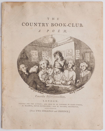Country Book-Club. A Poem … by [SHILLITO, Charles].