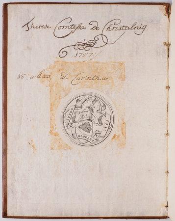 Kurtze Einleitung zur Italianischen Sprach. by CHRISTALNIGG, Therese, Countess of (owner).