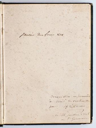 Pensées de Louis XIV. by DURAS, Claire de Durfort, duchesse de.