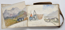 Another image of [A watercolour sketchbook]. by (IRELAND). COLLIS, F.P (?Miss).