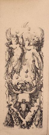Ornamenti o grottesche. by Della Bella, Stefano.